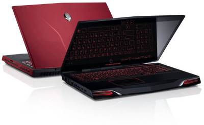 Ноутбук Dell Alienware, M17x 210-34925-Red