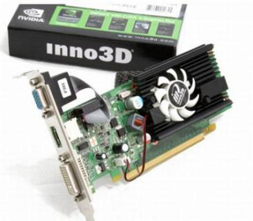 Видеокарта Inno3D Geforce 210 512MB N210-4DDV-C3BX