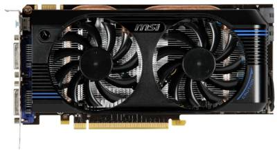 Видеокарта MSI GeForce GTX560Ti 1024Mb N560GTX-Ti-M2D1GD5/OC