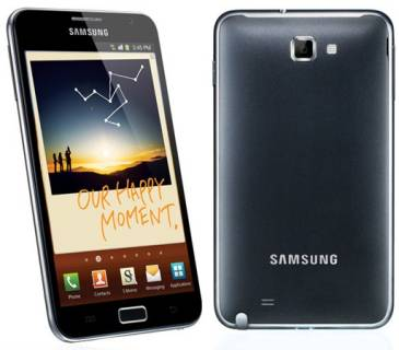 Смартфон Samsung N7000 Galaxy Note Dark blue GT-N7000ZBA