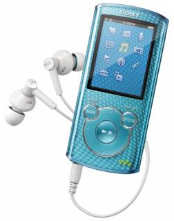 MP3 плеер Sony Walkman NWZ-E464 8GB Blue NWZE464L.CEV