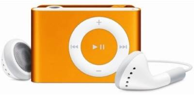 MP3 плеер Apple A1373 iPod shuffle 2GB orange MC749RP/A