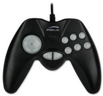 Игровой контроллер Speed Link PC Hornet Gamepad black SL-6512-SBK-A