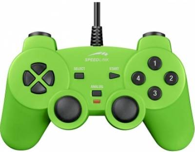 Игровой контроллер Speed Link PC Strike Gamepad green SL-6535-SGN-01