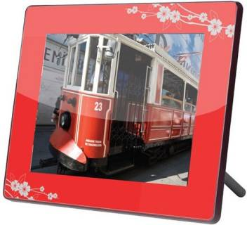 Фоторамка Ergo Photo Frame NT-2804 (Red-Grey)
