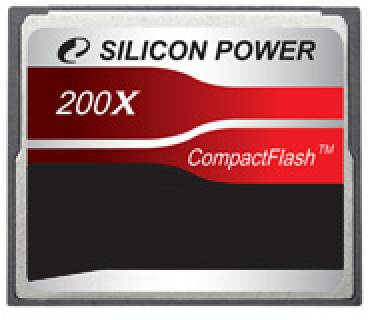 Карта памяти SiliconPower Compact Flash 8 Gb 200x SP008GBCFC200V10