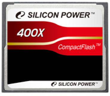 Карта памяти Silicon Power Compact Flash 16 Gb 400x SP016GBCFC400V10