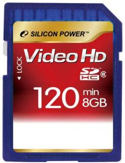 Карта памяти Silicon Power SDHC 8GB Class 6 SP008GBSDH006V30