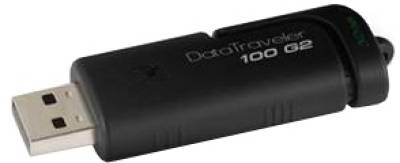 Флеш-память USB Kingston DTI 100 G2 Black DT100G2/4GB