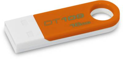 Флеш-память USB Kingston DataTraveler 109 16Gb Orange DT109O/16GB