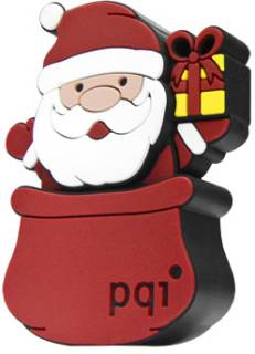 Флеш-память USB PQI I-Stick U826 8GB Red Santa 6826-008GR1001