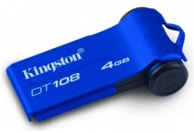 Флеш-память USB Kingston DT108 DT108/4GB