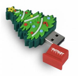 Флеш-память USB Patriot Xmas Tree 4Gb PSF4GUSBXMASTR