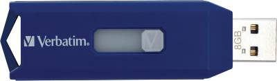 Флеш-память USB Verbatim Hispeed Drive Blue 44092