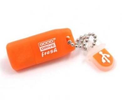 Флеш-память USB Goodram Standart Fresh-Orange Flavour PD16GH2GRFOR9