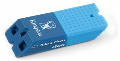 Флеш-память USB Kingston miniFun G2 DTMFG2/4GB