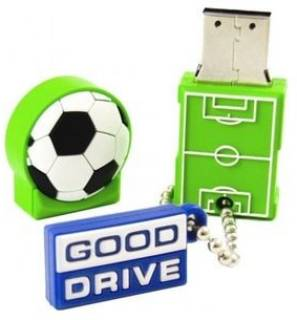 Флеш-память USB Goodram Standart Football 8Gb Green USB 2.0 PD8GH2GRFBR9