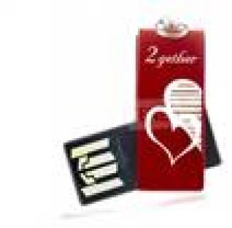 Флеш-память USB Goodram Cube Valentine Red RETAIL 9 PD4GH2GRCURR9+V
