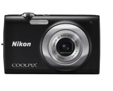 Фотоаппарат Nikon Coolpix S2550 Black