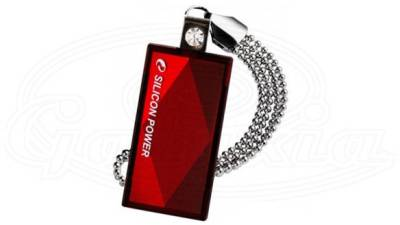 Флеш-память USB Silicon Power Touch810 Touch810 red