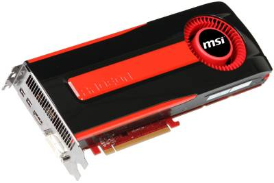 Видеокарта MSI Radeon 7970 3GB R7970-2PMD3GD5