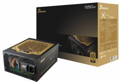 Блок питания Seasonic X-1250 GOLD 1250W SS-1250ХM