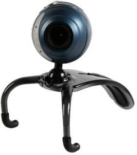 Веб-камера Speed-Link Snappy Microphone Webcam blue SL-6825-SBE-A