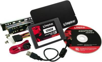 Внутренний HDD/SSD Kingston V+200 SATA3 120GB Bundle SVP200S3B/120G