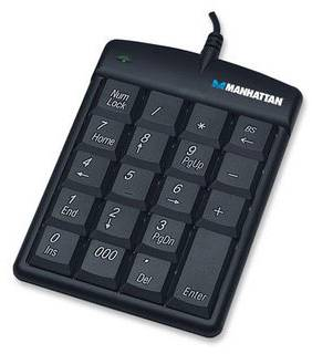 Клавиатура Intracom Keypad Manhattan Slim 176354