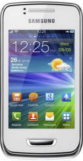 Смартфон Samsung S5380 Wave Y Pearl white GT-S5380PWD