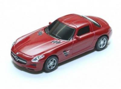 Флеш-память USB Autodrive Mercedes Benz AMG SLS Red 92915W-RED-4GB