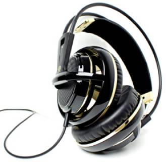 Наушники SteelSeries Siberia V2 Black and Gold