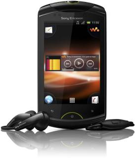 Смартфон Sony Live with Walkman black WT19i