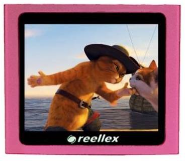 MP3 плеер Reellex UP-45 Gb 4 Gb Pink Metallic