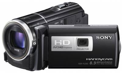 Видеокамера Sony HDR-PJ260 Black HDRPJ260VE.CEL