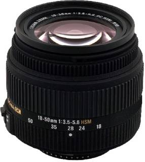 Объектив Sigma 18-50 mm f3,5-5,6 DC HSM for Nikon