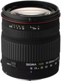 Объектив Sigma 18-200 mm f3,5-6,3 DC for Sony