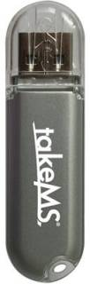 Флеш-память USB TakeMS ColorLine NT 4Gb  Silver MS4096PD070N