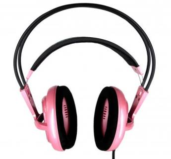 Наушники SteelSeries Siberia Full-Size Iron Lady Pink 51014