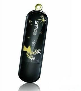 Флеш-память USB Silicon Power LuxMini 322 Winter Limited Edition SP016GBUF2322V1K-LE