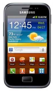 Смартфон Samsung S7500 Galaxy Ace Plus Black GT-S7500ZKA