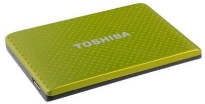 Внешний HDD Toshiba Stor.E Partner 500GB Green PA4271E-1HE0