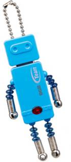 Флеш-память USB Team T-bot 8GB Blue TG008GR501LX