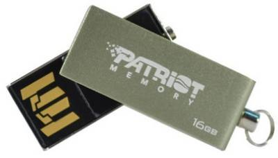 Флеш-память USB Patriot SWING  16GB Silver PSF16GSSUSB