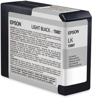Картридж Epson STYLUS Pro 3800 (80ml) Light Black T580700