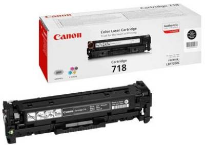 Картридж Canon Cartridge 718 Black 2662B002