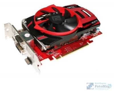 Видеокарта PowerColor Radeon HD 6770 1Gb AX6770 1GBD5-PPV2