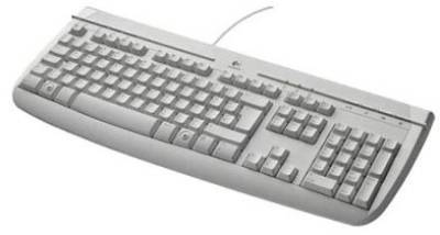 Клавиатура Logitech Deluxe 250 PS /2 Grey 967641-0135