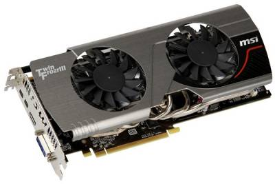 Видеокарта MSI Radeon HD 7950 3Gb TWIN FROZR R7950 TWIN FROZR 3GD5/OC