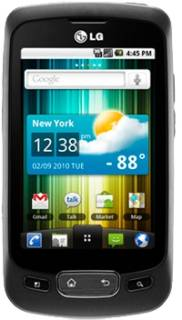 Смартфон Lg Optimus One P500